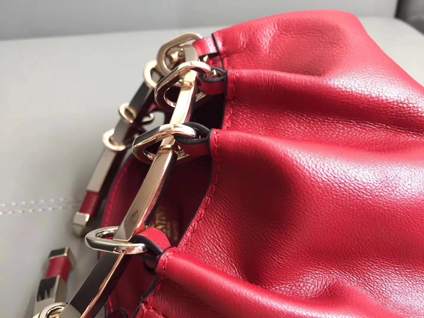 Valentino Evening Bags Red