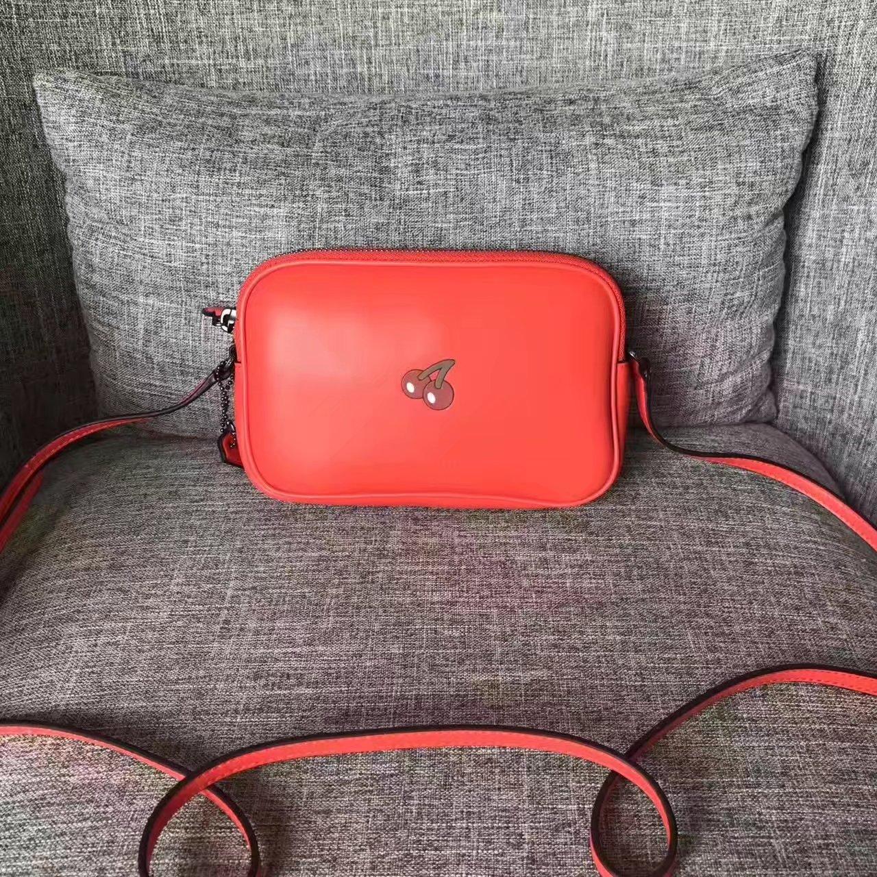 Coach F55743 Women Mini Shoulder Bag Red