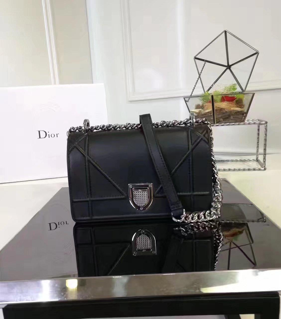 Dior Diorama Bag Black Lambskin