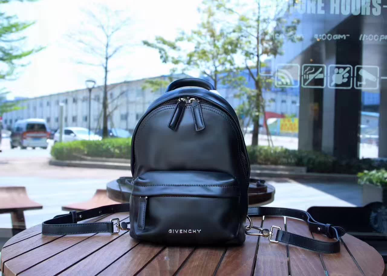 Givenchy Leather Nano Backpack Black