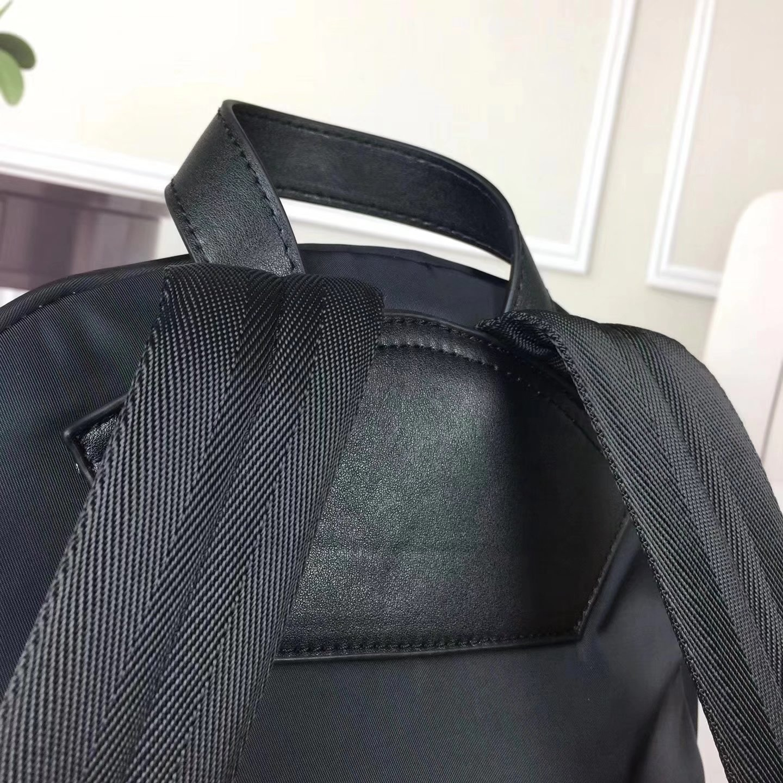 Givenchy Rottweiler Print Men Nylon Backpack Black
