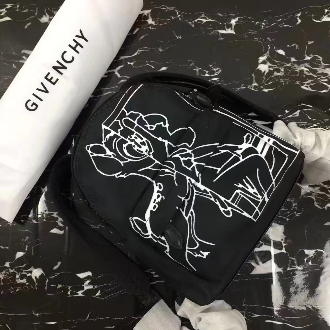Givenchy Women Mini Backpack Bag Black