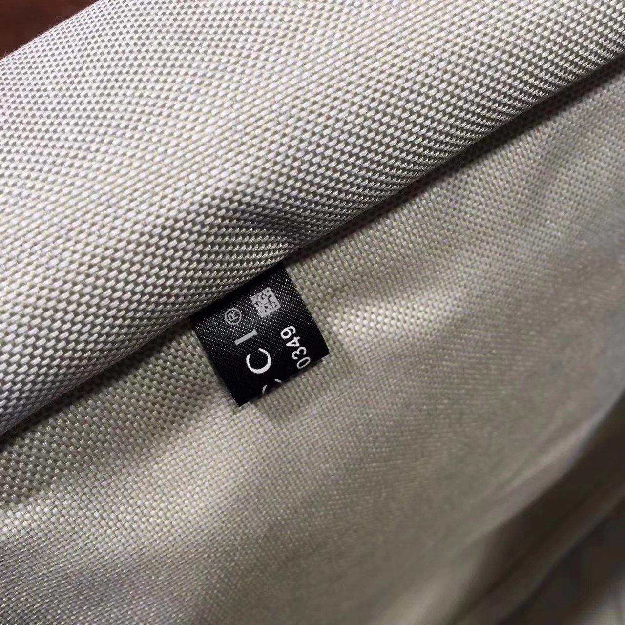 Gucci 201480 Men Briefcase GG Supreme Canvas Blue