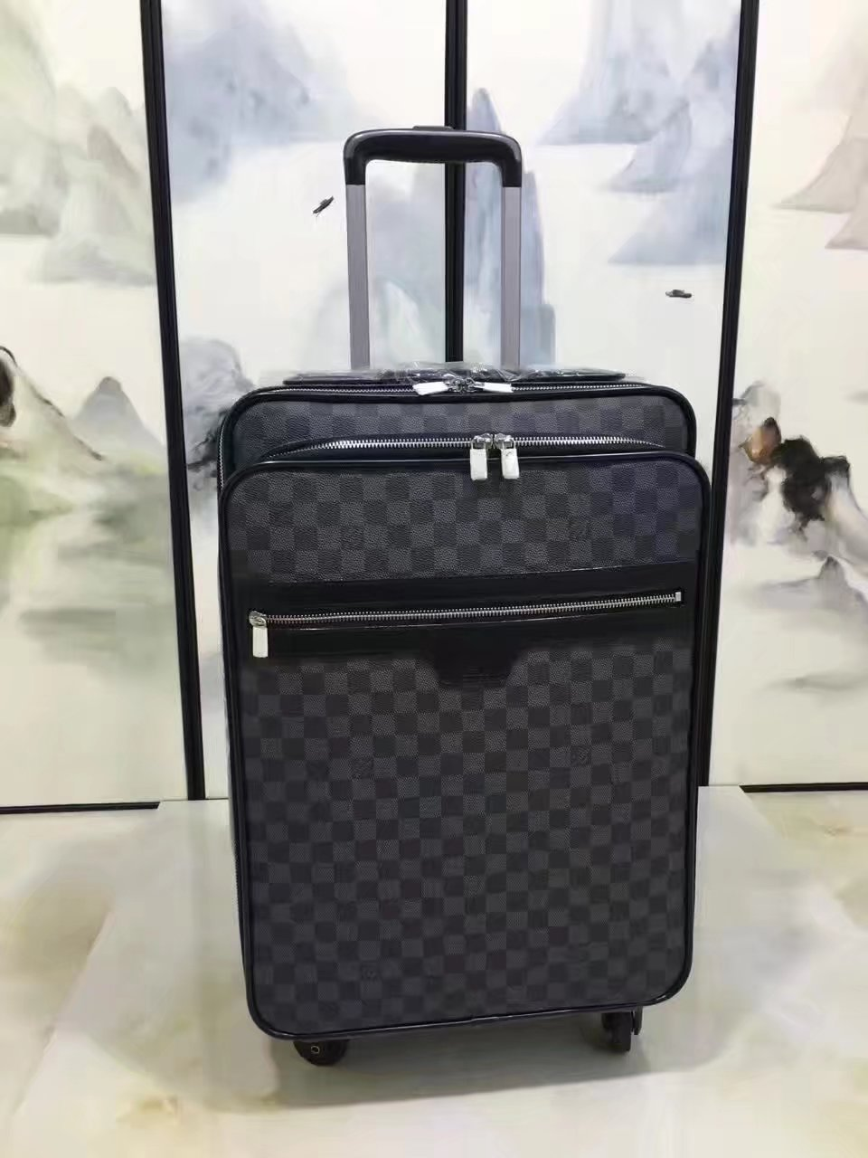 Louis Vuitton 55 Luggage Damier Graphite Canvas