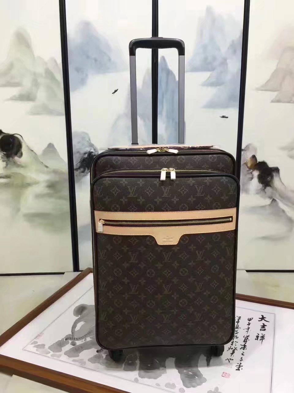 Louis Vuitton 55 Luggage Monogram Canvas