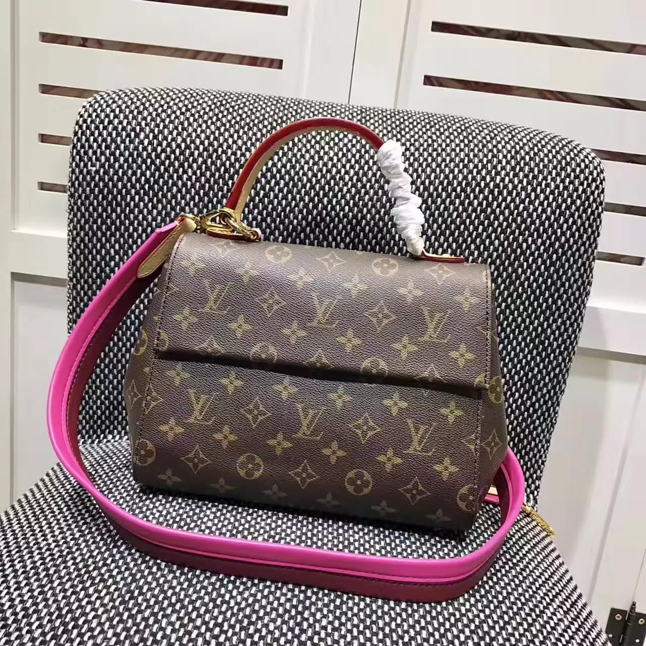 Louis Vuitton M42738 Cluny BB Handbags Monogram Canvas