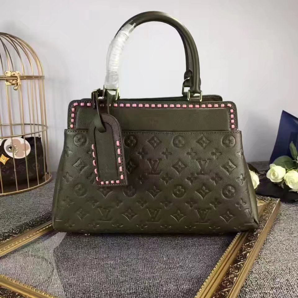 Louis Vuitton M43250 Vosges MM Khaki