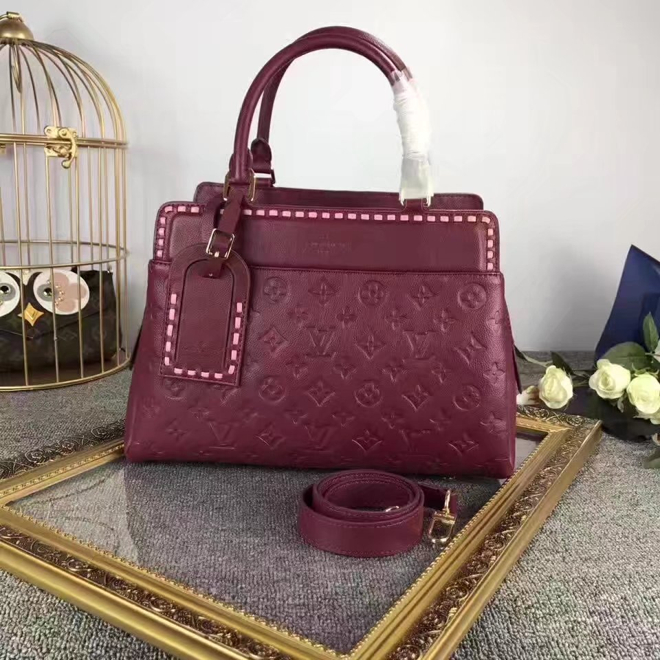 Louis Vuitton M43250 Vosges MM Raisin