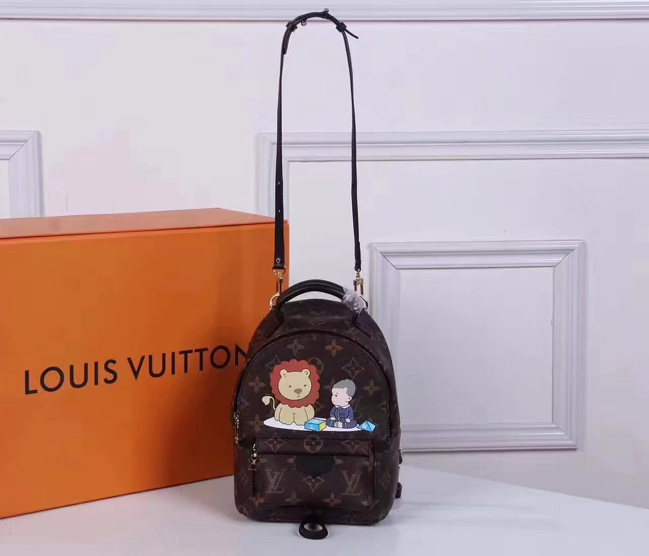 Louis Vuitton N40019 Mini Backpack Monogram Canvas