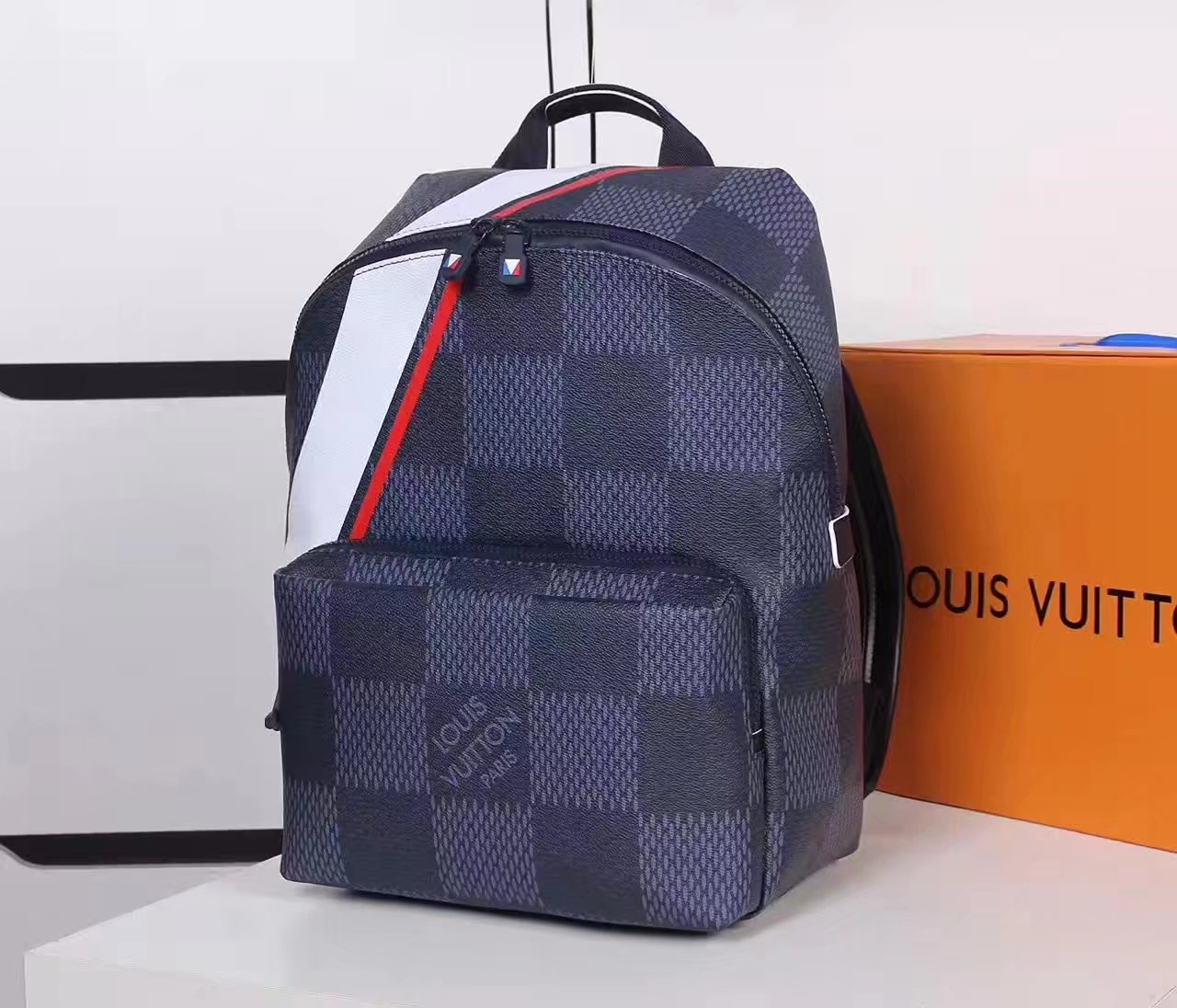 Louis Vuitton N44016 Apollo Backpack Damier Infini Leather