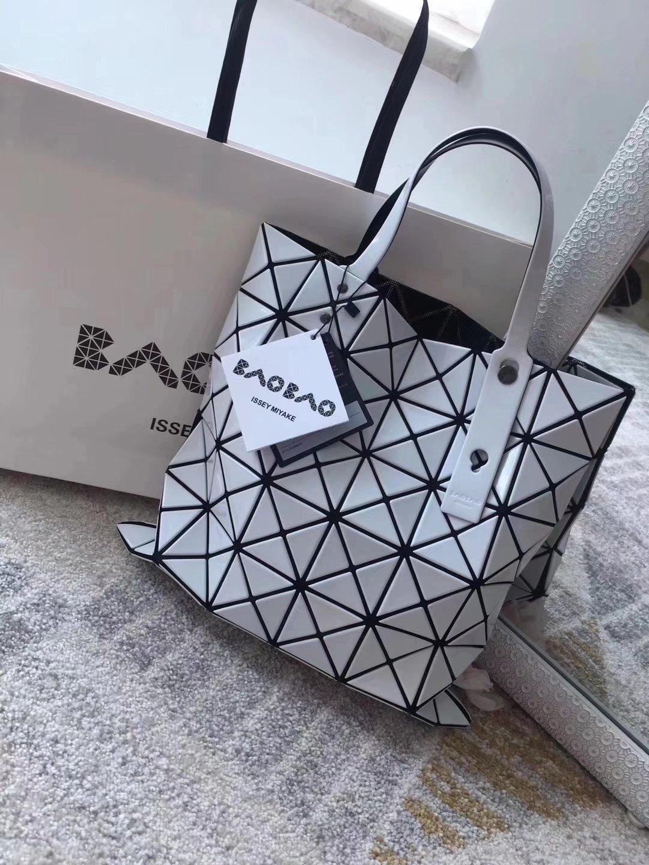 Issey Miyake Bao Bao BB53-AG053 Shopping Bag White