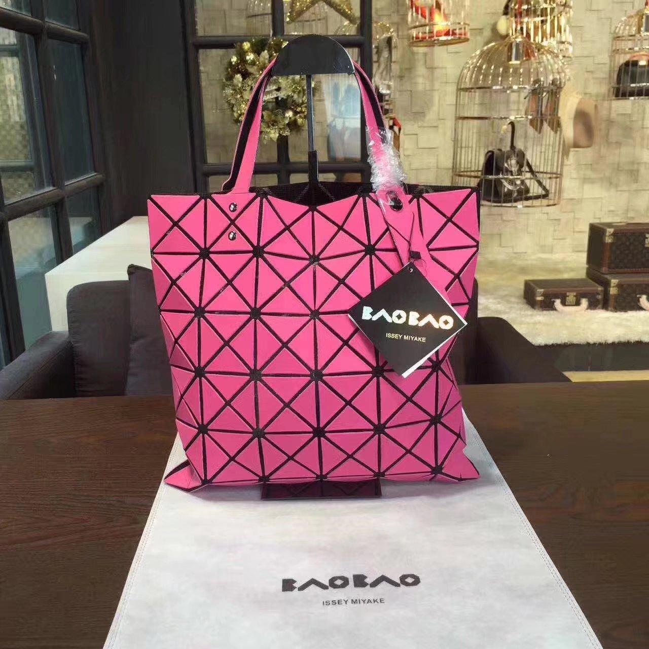 Issey Miyake Bao Bao Shopping Bag Pink