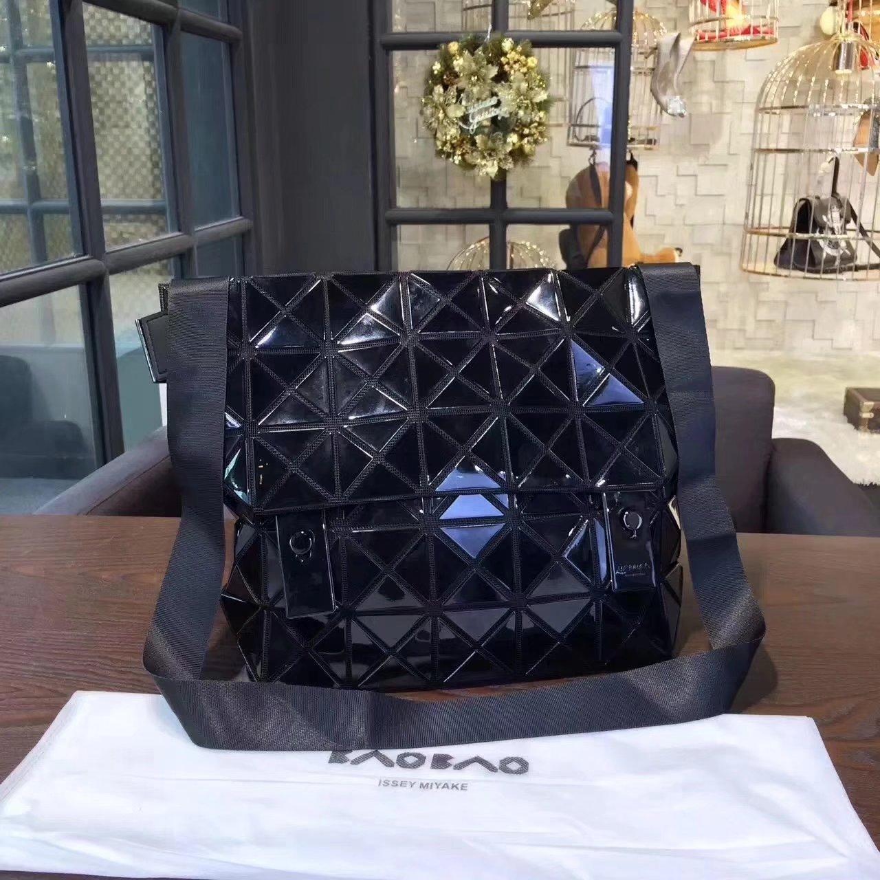 Issey Miyake Bao Bao Shoulder Bag Black