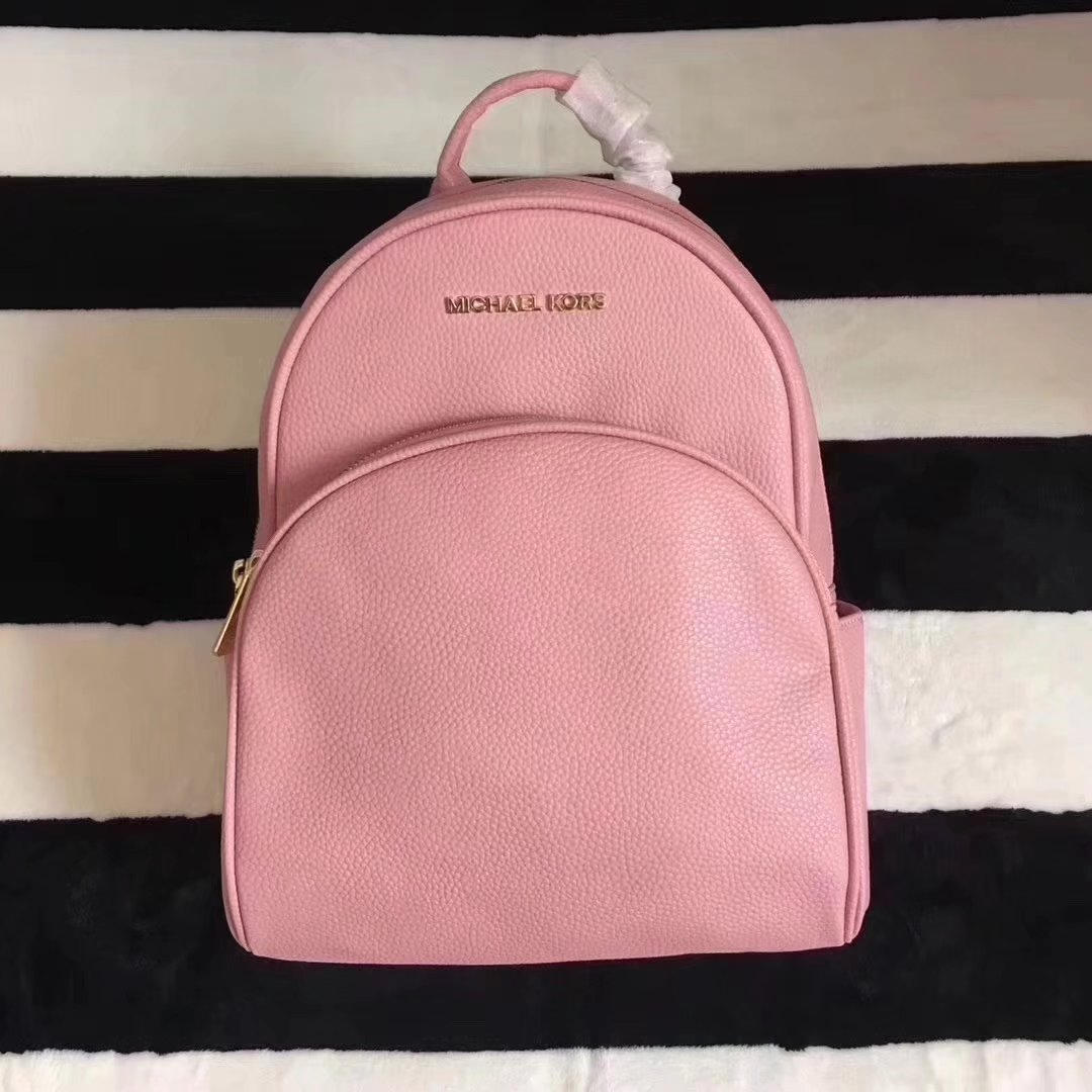 Michael Kors Women Leather Backpack Pink