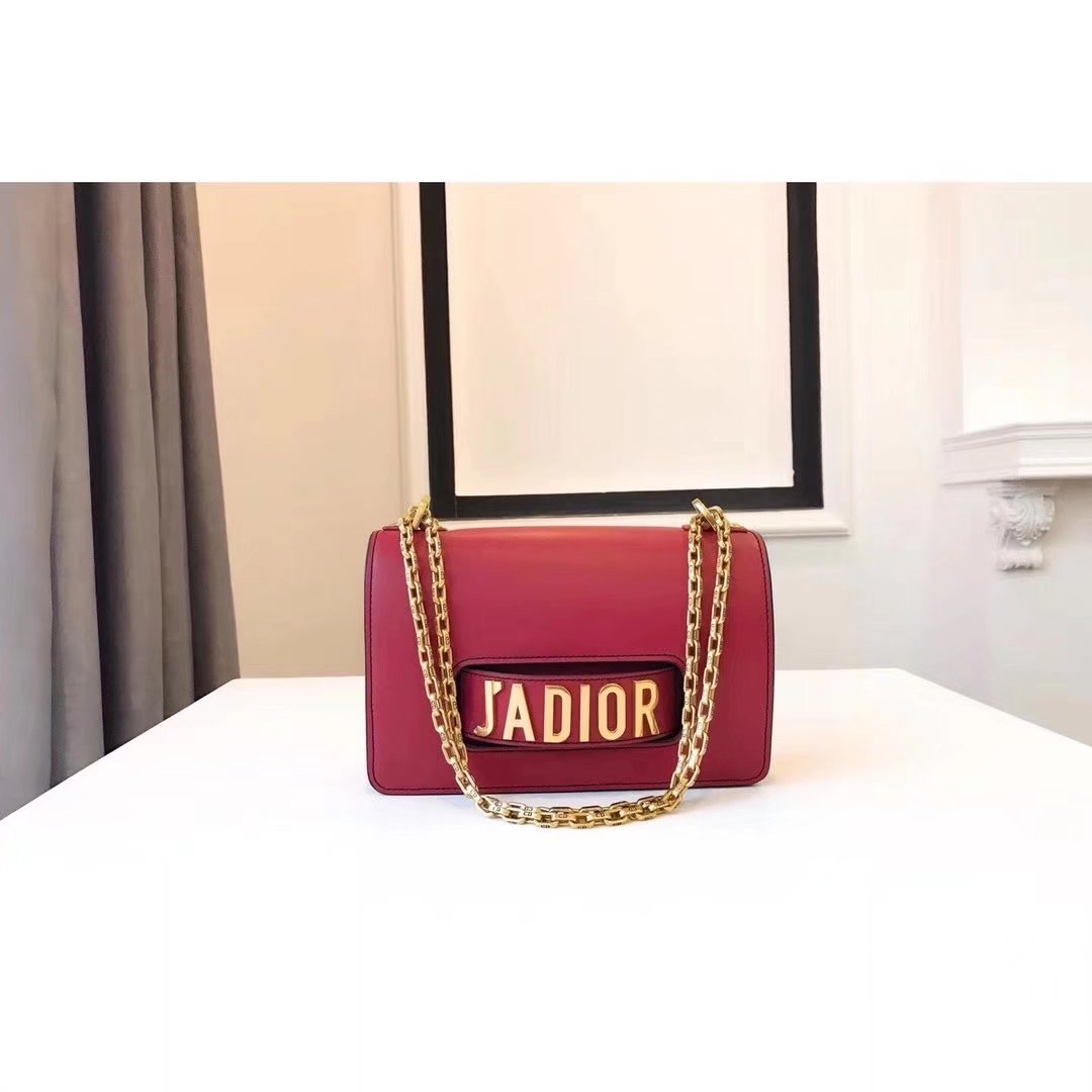 Dior J'ADIOR Flap Bags With Chain in Rose