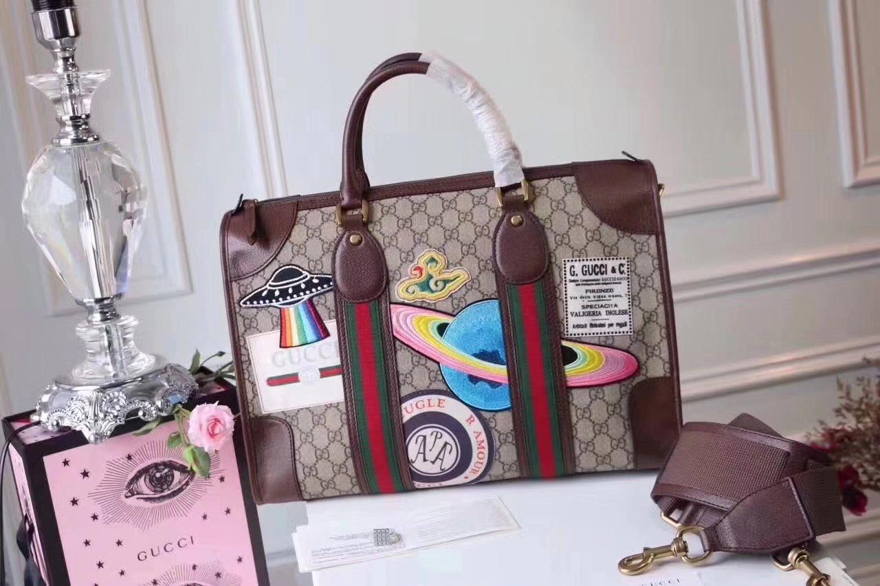 Original Quality Gucci 459311 Courrier Soft GG Supreme Duffle Bag