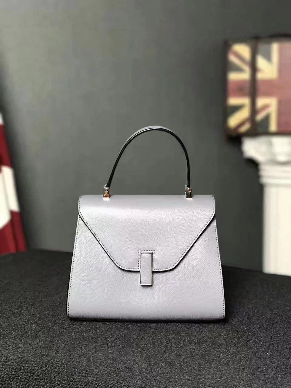 Valextra Superbag Iside Bag Ash Grey