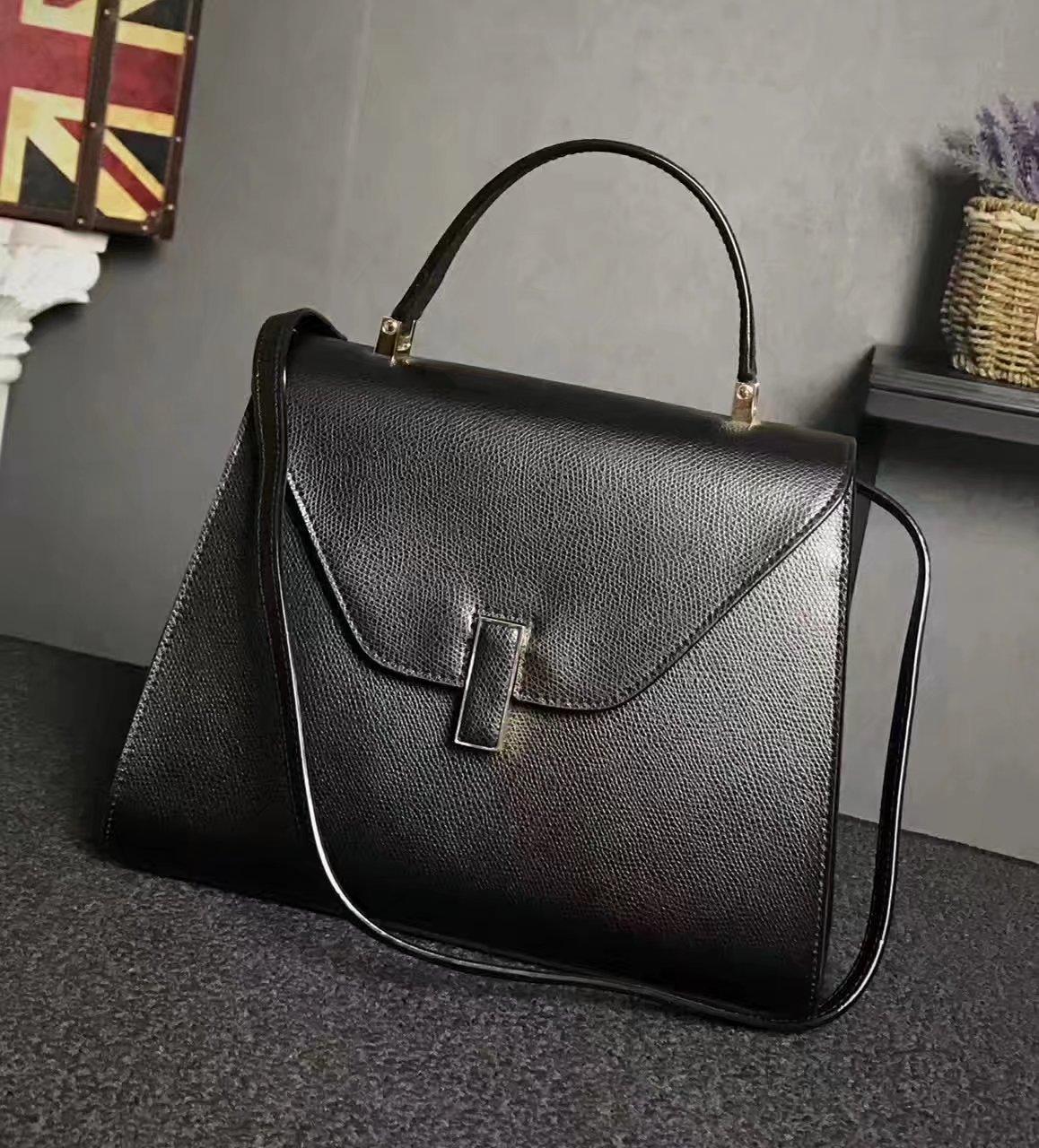 Valextra Superbag Iside Bag Black