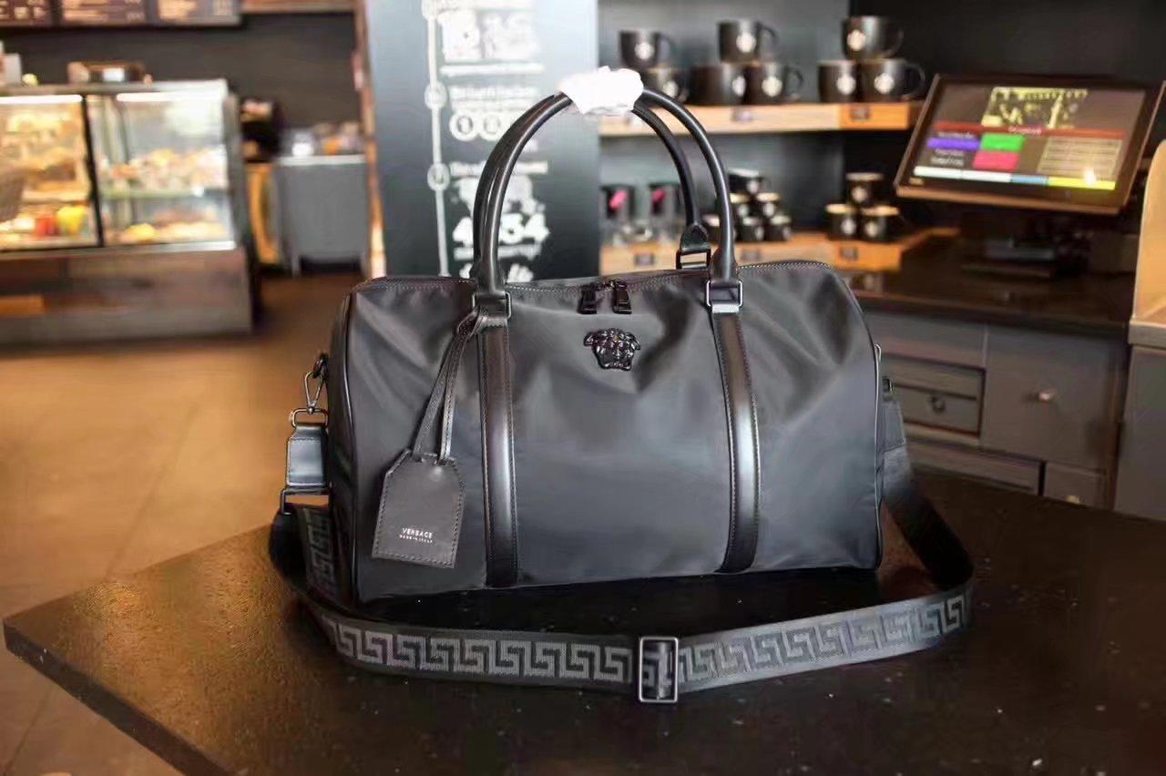 Versace Medusa Head Weekend Bag Black