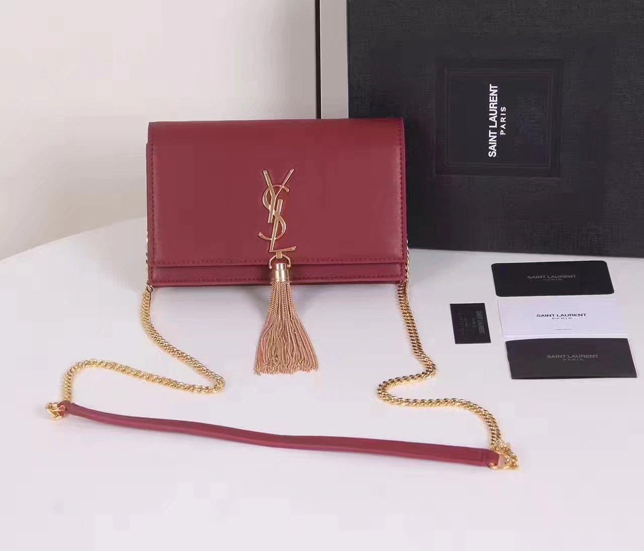 Yves Saint Laurent Classic Saint Laurent Shoulder Bag With